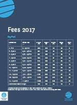 Fees 2017 - Marina and wintering port