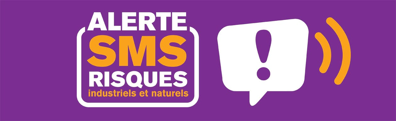 Inscription aux SMS d'alerte Risques